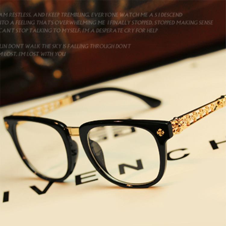 designer eyewear frame 2017 fashion brand eyeglasses women man gold eye glasses women optical vintage glasses glasses frames men