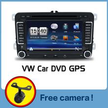 Wholesale! 2Din 7 Inch Car DVD Player for VW GOLF 5 6 POLO PASSAT CC JETTA TIGUAN TOURAN EOS SHARAN SCIROCCO TRANSPORTER T CADDY(China (Mainland))