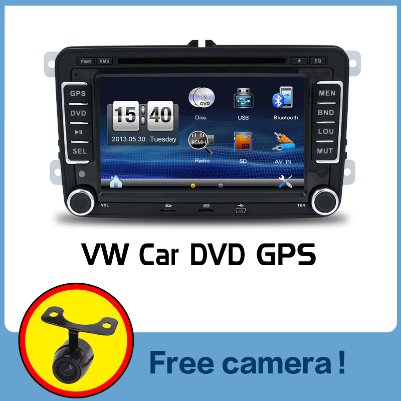 Wholesale! 2Din 7 Inch Car DVD Player for VW GOLF 5 6 POLO PASSAT CC JETTA TIGUAN TOURAN EOS SHARAN SCIROCCO TRANSPORTER T CADDY(China (Mainland))