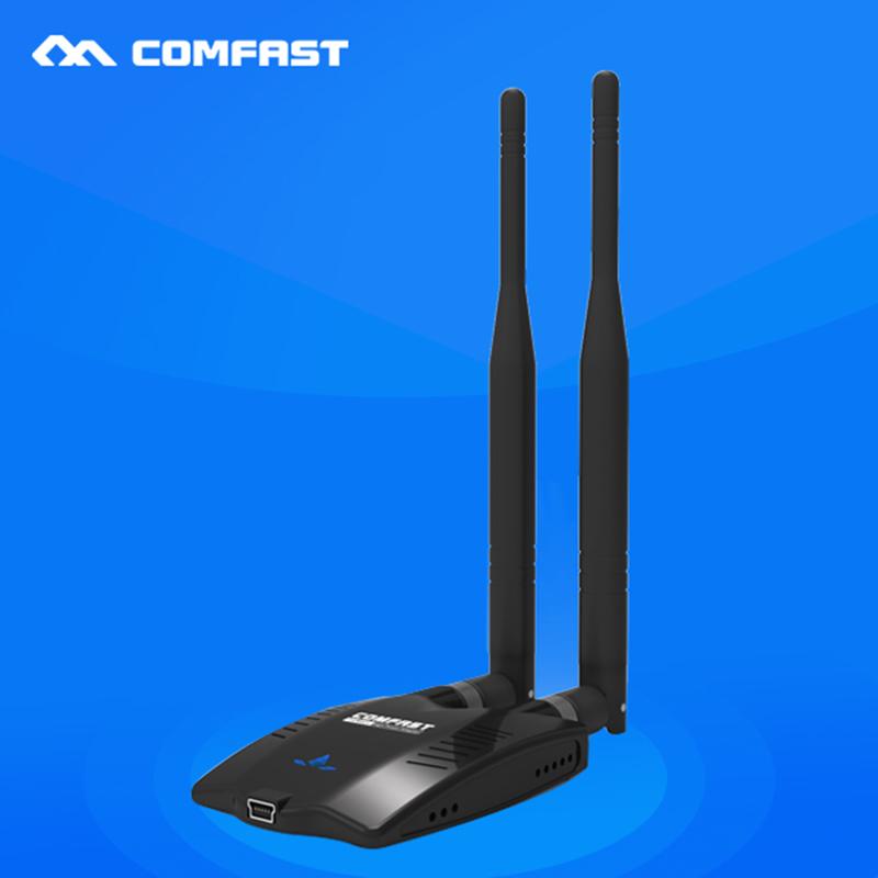 COMFAST wifi hotspot USB wi fi 150Mbps Ralink RT3070L High power USB wifi adapter CF-WU7201ND wireless adapter with WIFI antenna(China (Mainland))