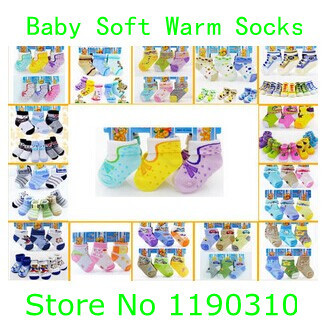 newborn bebe socks kids wear 0-1years kids baby toddler infant boys girls socks super soft cotton socks unisex socks many design(China (Mainland))
