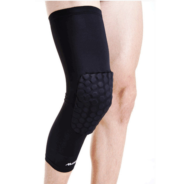 High Quality Mcdavid Breathable Basketball Shooting Sport Safety Kneepad Honeycomb Pad Bumper Brace Kneelet Protective Knee pads