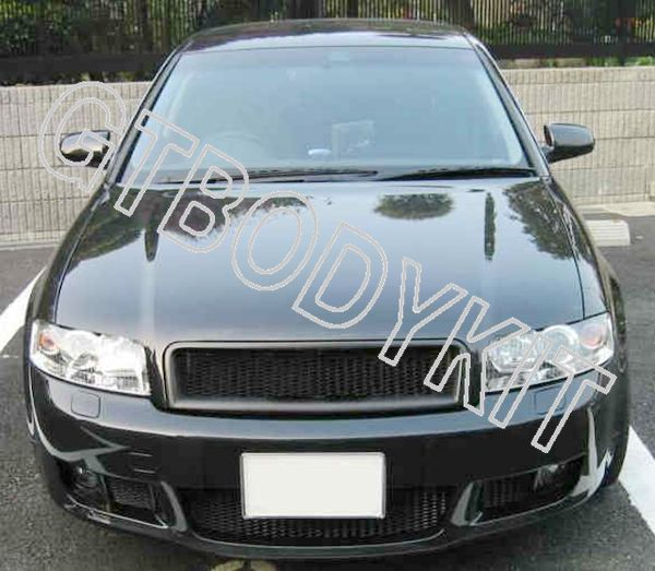 Фотография 02-05 A4 B6 RS4 BADGELESS FRONT MESH GRILL GRILLE
