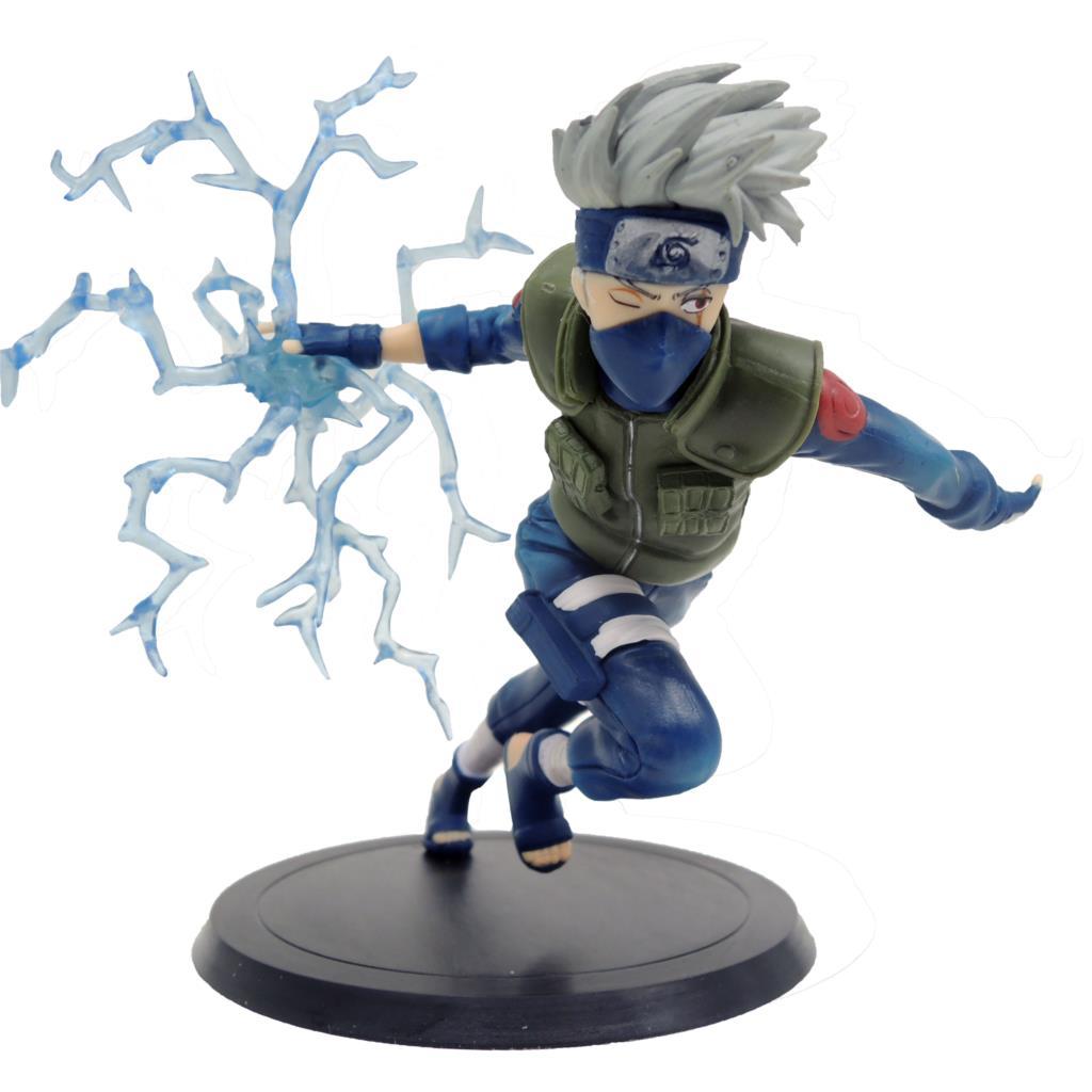 Japanese Anime Action Figure Naruto Hatake Kakashi Running Tsume Xtra Ver. PVC Figure Model Toy 14cm<br><br>Aliexpress