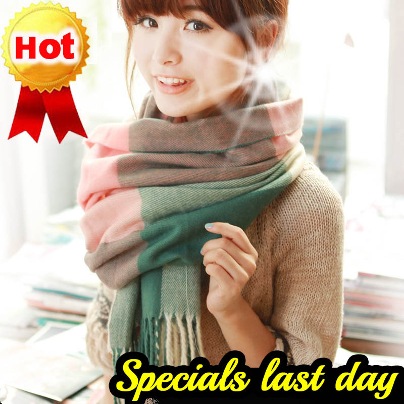 2015 fall winter fashion for women Spain infinity wool Plaid Thick scarf shawls and scarves cashmere scarf cachecol bufandas(China (Mainland))