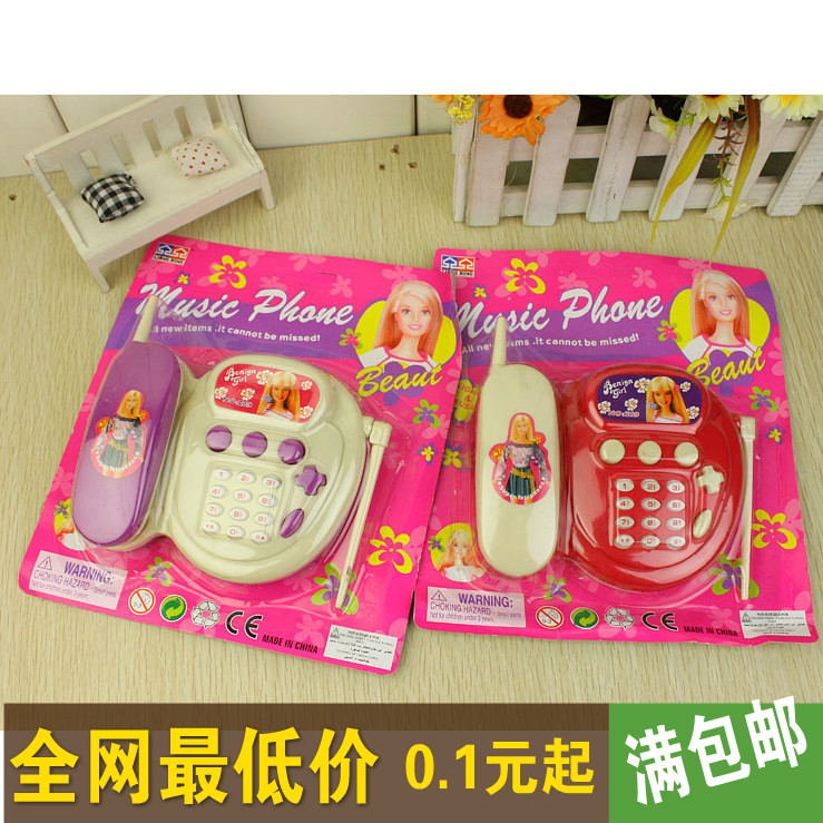 Hot-selling music phone mobile telephone toy for kid with music and interactive fun night market(China (Mainland))