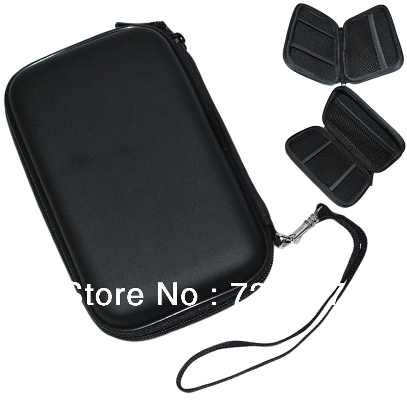 2.5 inch External Hard Disk Drive HDD Carry Zipper Case Pouch Bag Cover WD Passport Essential(China (Mainland))