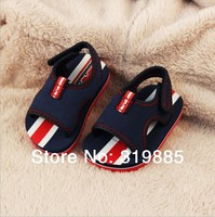 2015 New Fashion Baby Summer sandals Dark Blue EVA Children's sandals shoes Child Baby beach shoes for 1-3 years boys and girls