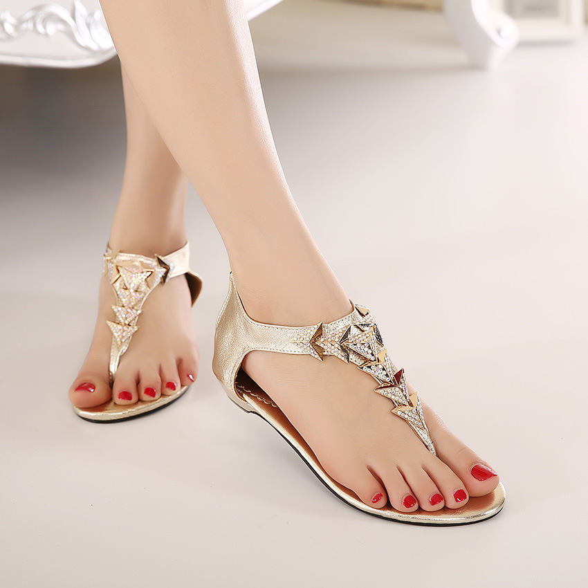 2015-Fashion-Women-s-Summer-Shoes-Rhinestone-Rome-Style-Girls-Sandals-Back-Zipper-Gold-Flat-Sandals.jpg