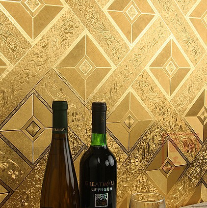 modern classic luxury wallpaper roll gold foil