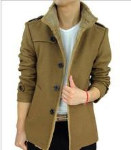 New fashion Down & parkas 2015 winter wool coat men manteau homme trench coat mens pea coat casaco masculino down jacket(China (Mainland))
