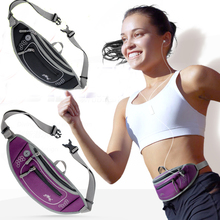 2015 New Neoprene Men Women Close-fitting Running Waist Pack Outdoor Sports Cycling Fanny Pack Bum Bag Hip Money Anti-theft Belt