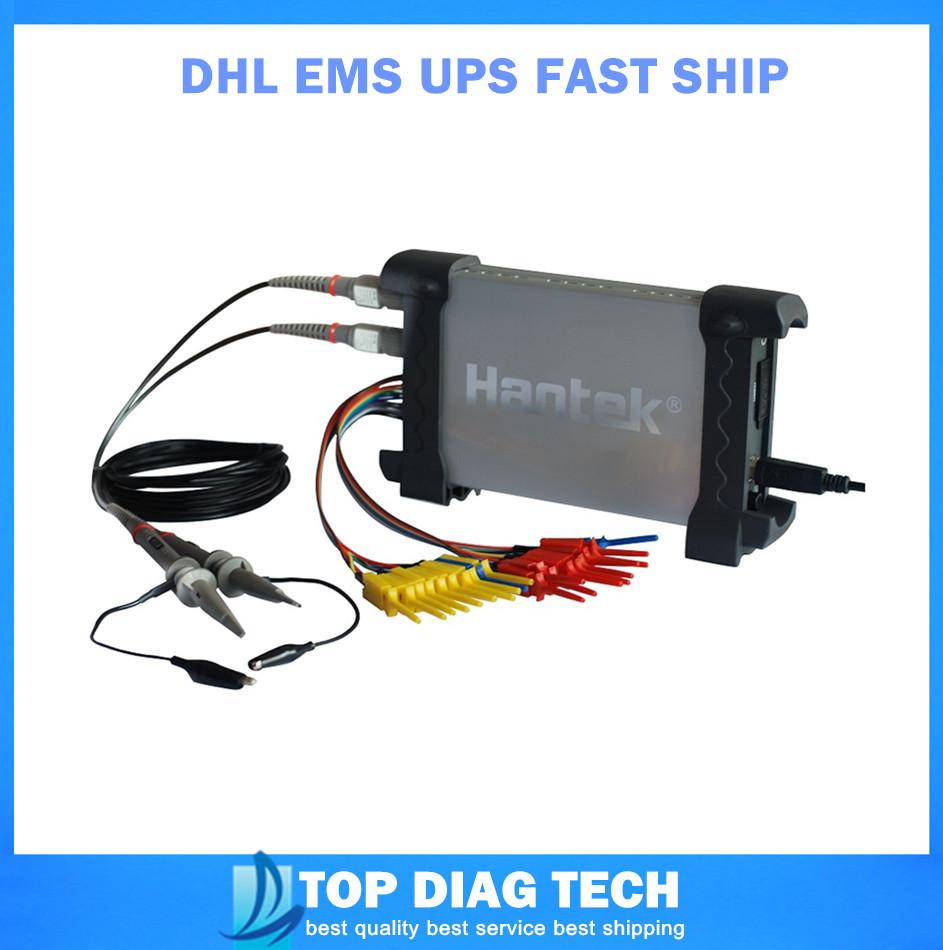 PC Digital Portable Oscilloscope Hantek Based USB Hantek 6022BL 16ch Logical Analyzer DHL EMS UPS fast ship(China (Mainland))