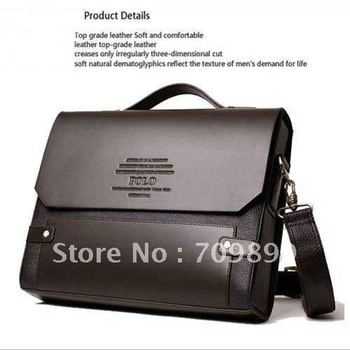 New arrival Brand Men Designer Bag Fashion PU Leather Bags Briefcase Business Shoulder Messenger Bags M003