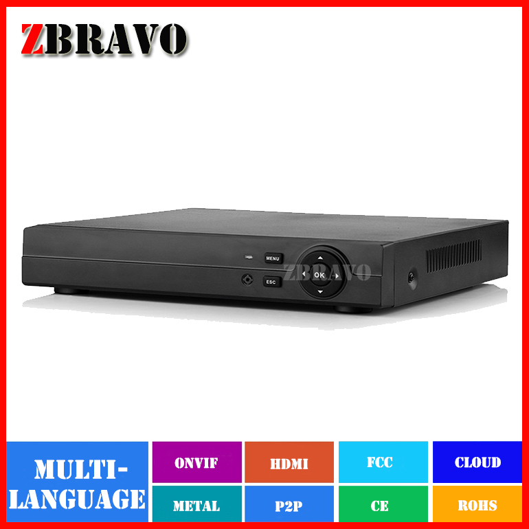Great Quality 1080P AHD-H 4 Channel AHD DVR Recorder 3 in 1 Hybrid DVR 4CH AHD DVR 2MP AHDH For 1080P AHD Camera AHDH AHDM AHDL(China (Mainland))