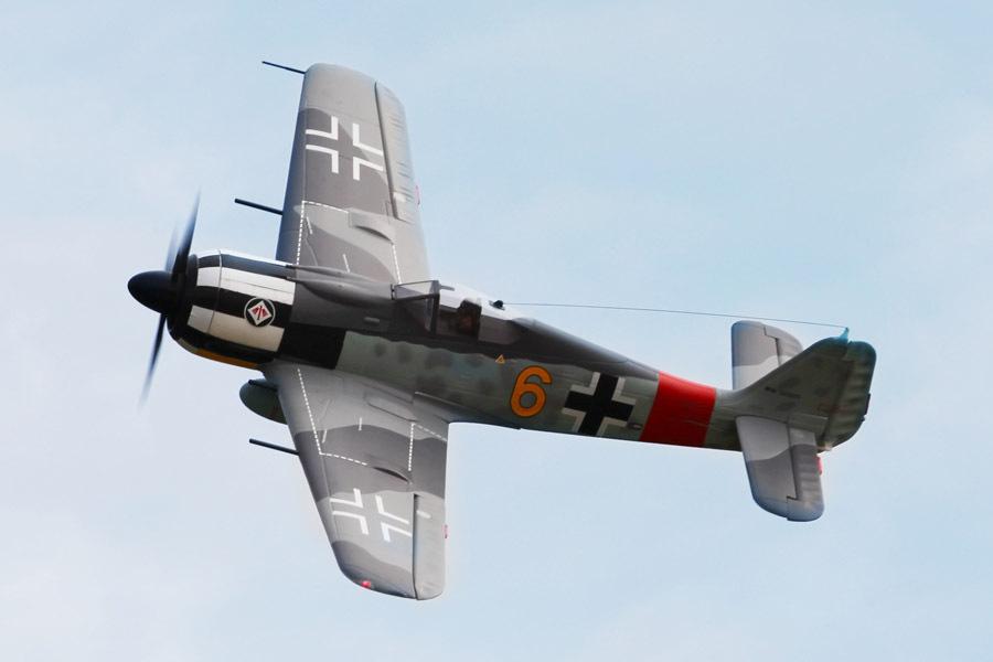 FMS 1400MM / 1.4M Focke-Wulf Fw 190 Fw190 Yellow 6 Newest version PNP RC Airplane Gaint Warbird Big Scale Model Plane Aircraft