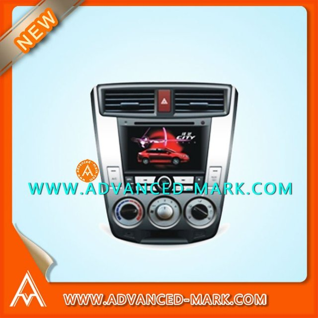 "Replace For Honda City Car DVD GPS,7 "" TFT  Touch Screen With USB/A2DP/SD Player ,With a Map.All Brand New~"