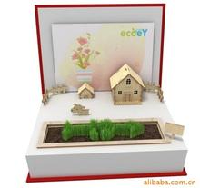 Desktop Factory direct mini toy happy farm DIY gift QQ farm grown potted plants Creative