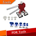 Dent Lifter Paintless Dent Repair Glue Puller Hand Lifter PDR Tool with 9 Pcs Glue Puller