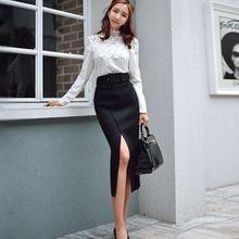 dabuwawa high waist black fashion skirt new 2016