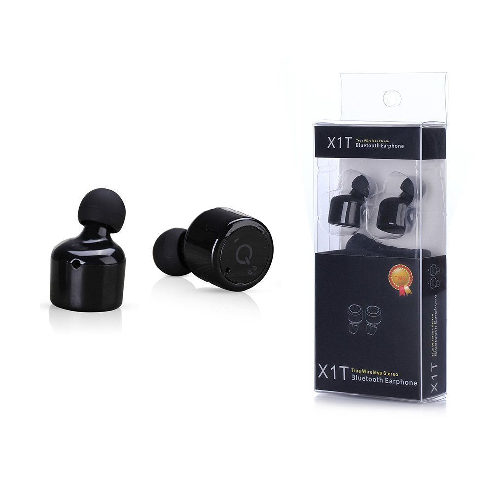 x1t mini invisible twins true wireless bluetooth earphones csr 4 2 handsfree earbuds for iphone. Black Bedroom Furniture Sets. Home Design Ideas