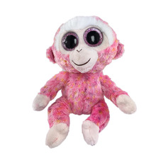 Beanie Boos Original Big Eyes Plush Toy Doll Child Birthday Husky Cat Owl Unicom  Baby 15cm WJ159(China (Mainland))