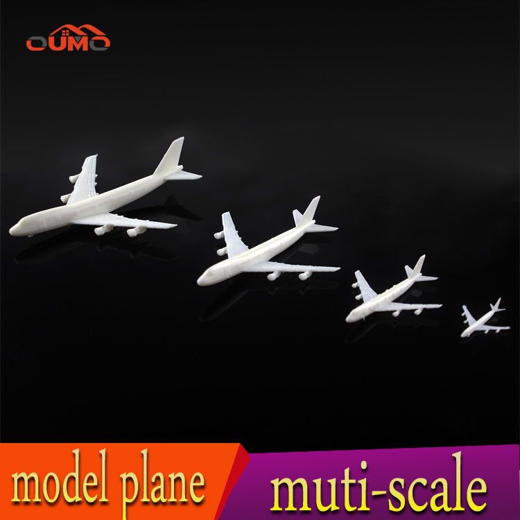 5 PCS HOT Aeroflot Airlines Airbus aircraft plastic simulation model airplane dollhouse miniature plane Toy Vehicles for kids(China (Mainland))