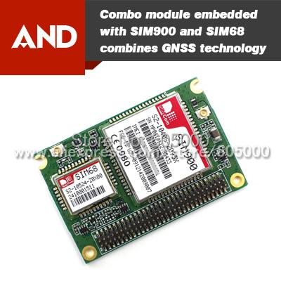 Free shipping SIM968-C GPRS GSM GPS GLONASS module GNSS receiver(China (Mainland))