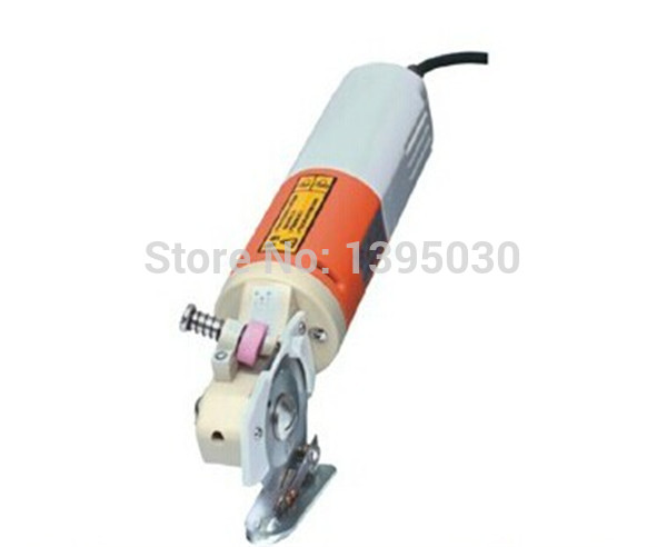 Buy 6pcs YJ-65 65mm Blade Electric Round Knife Cloth Cutter Fabric Cutting Machine 220V Round Knife Cutting Machine cheap