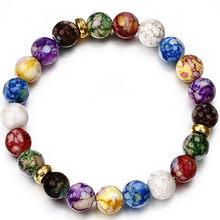 New Fashion Beaded Women Men Bracelets Simple Classic Round Bead Charm Bracelets & Bangles For Men Handmade Accessories Gift(China)