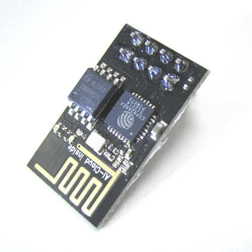 5pcs ESP8266 remote serial Port WIFI wireless module through walls Wang, with tracking number ( ESP-01 upgrade ESP-01S )(China (Mainland))