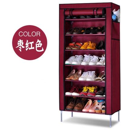 YoHere simple furniture thickened nonwoven dust shoe racks creative shoe shelf multi-layer combination storage shoes cabinet(China (Mainland))