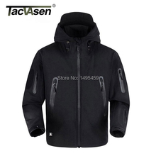 TACVASEN Thermal Upgraded V5.0 Military Tactical Jacket Men Breathable Waterproof Windproof Soft Shell US Army coats TD-YCXL-001(China (Mainland))