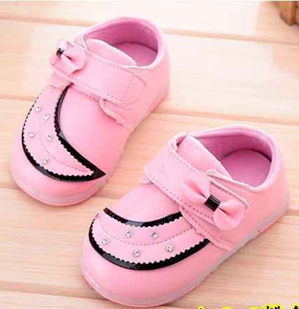 Baby leather shoes 2015 autumn children toddler leisure fashion soft bottom flash cartoon shoes tenis kids loafers 60b<br><br>Aliexpress