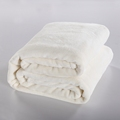 King Size 200x230cm Solid White Color Blanket Super Soft Warm Coral Fleece Blankets Throw Blanket on