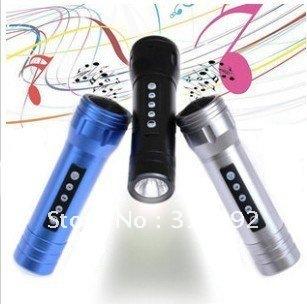 USB Speaker portable mini Speaker with U-Disk+Micro SD/TF card flash light
