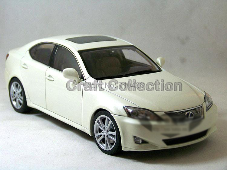 White 1/18 LEXUS IS350 2006 AutoArt AA Diecast Model Car Aluminum Die casting Products Craft Collection Brinquedos(China (Mainland))