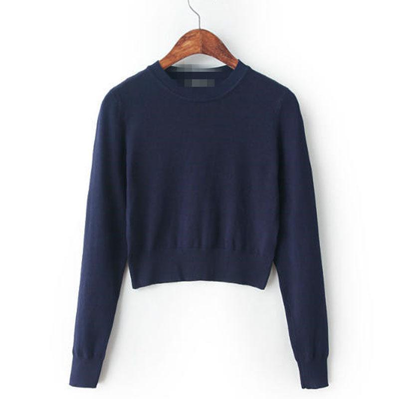 Короткий пуловер женский доставка