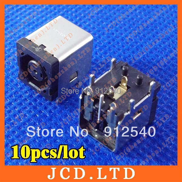 10PCS Hot Wholesale Discount New DC JACK Female For Dell Inspiron 1545 Laptops(China (Mainland))