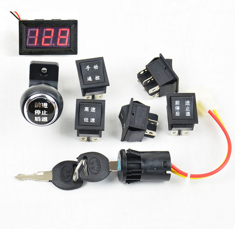Electric cars for kids electrical car switch toy car electric motorcycle switch Remote control car switch motorcycle accessories(China (Mainland))