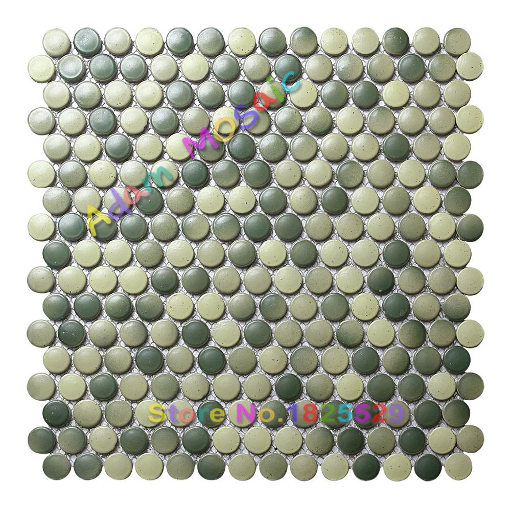 Groene Tegels Keuken : Penny ronde tegels groene keramische douche muur metro tegels keuken