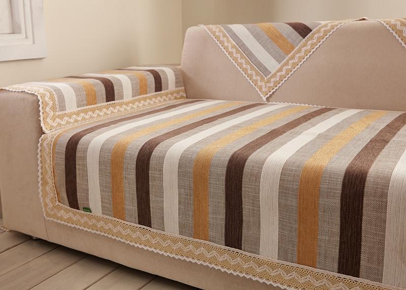 striped fabric sofa thesofa. Black Bedroom Furniture Sets. Home Design Ideas