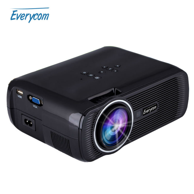 Original Everycom X7 Mini TV Projector Hdmi Home Theater Beamer Multimedia Proyector Full Hd 1080p Video Short throw Projector(China (Mainland))