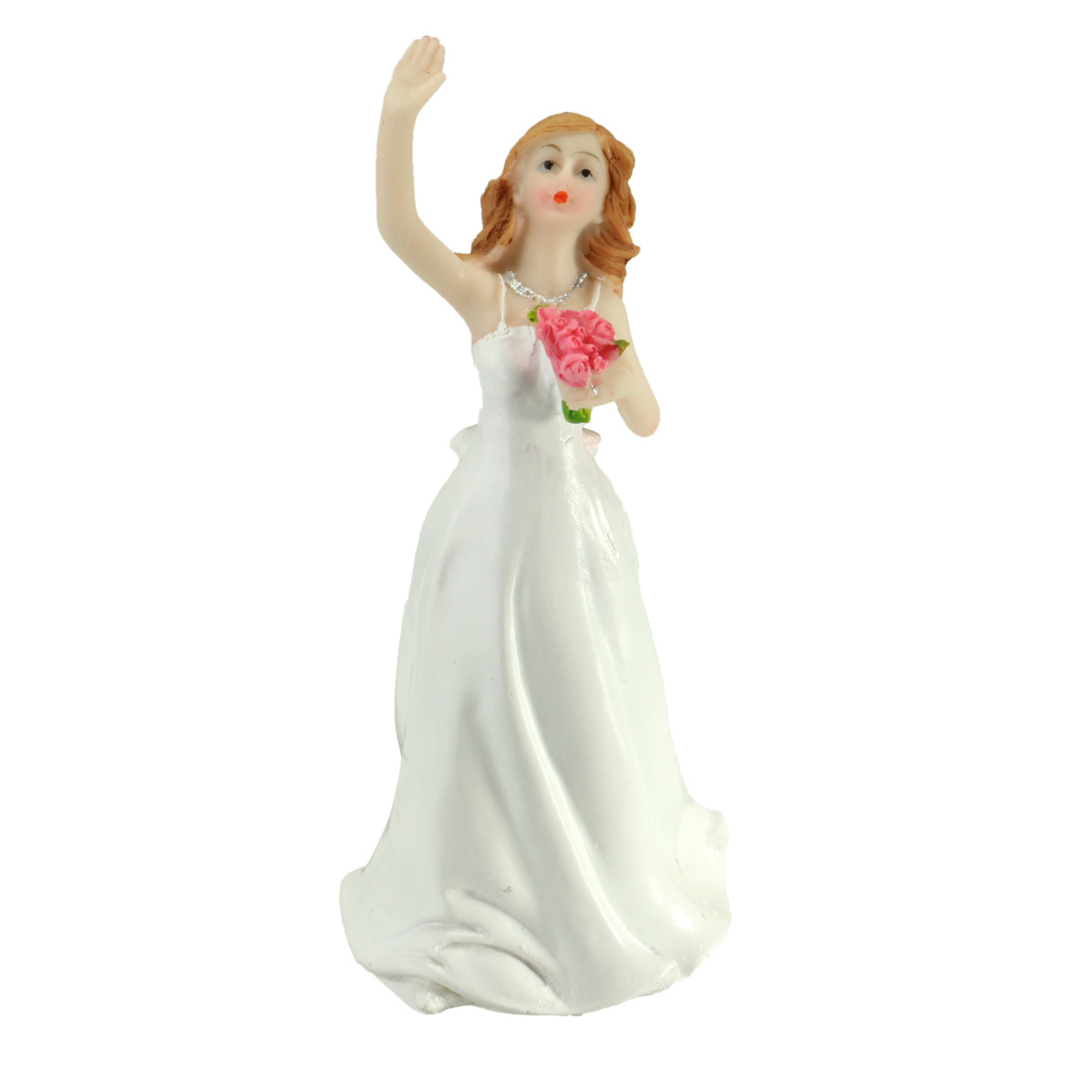 Wedding Cake Topper Modern Style Resin Craft Bride And Groom Couple Figurine Romantic Decoration Good Gift(China (Mainland))