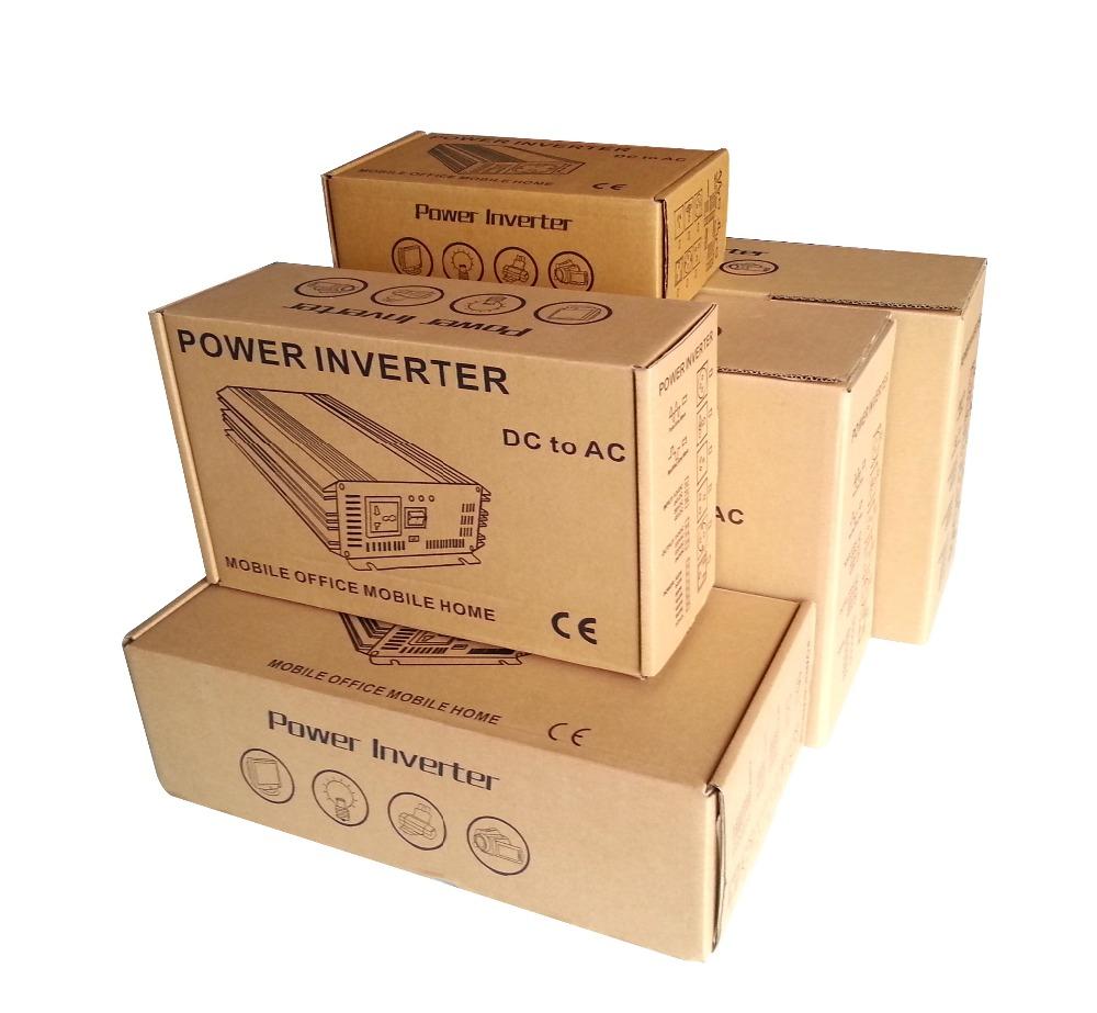 Stock Brandnew  PPI 300W inverter pure sine wave  Off-grid solar power inverter 300W  DC to AC inverter peak 600W I-P-PPI-300W