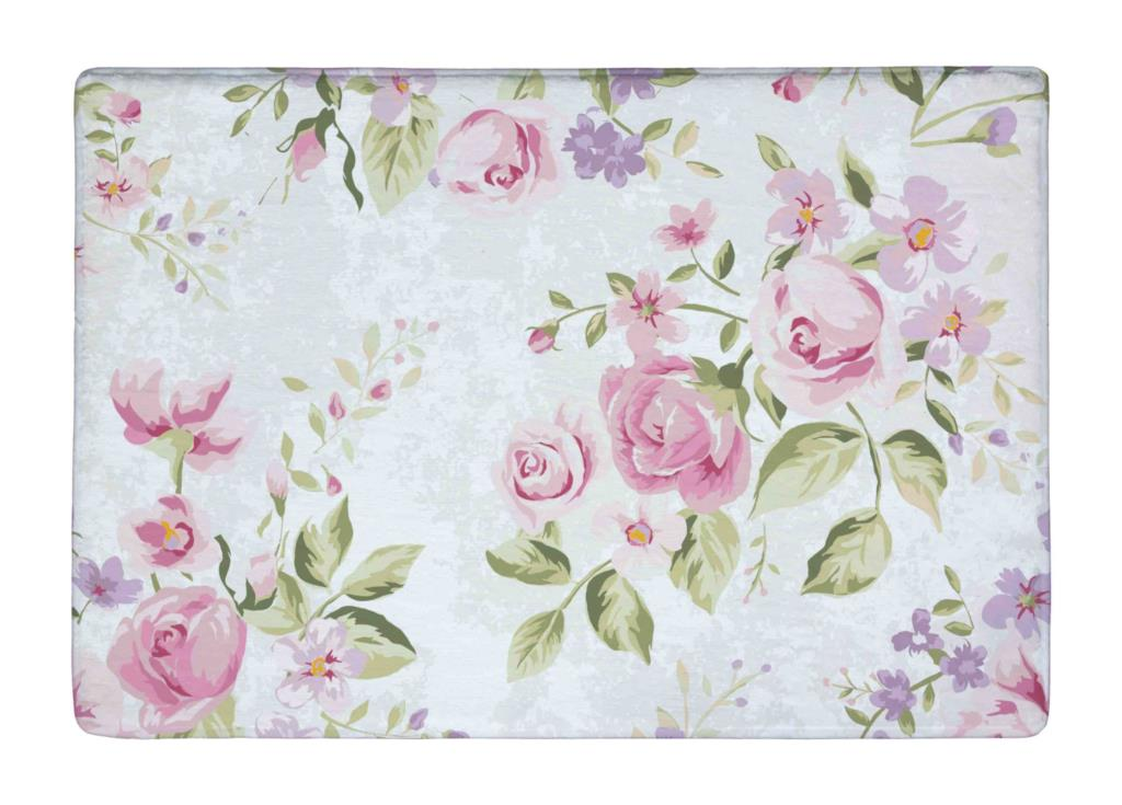Aliexpress Com Buy Floor Mat Vintage Pink Rose Elegance