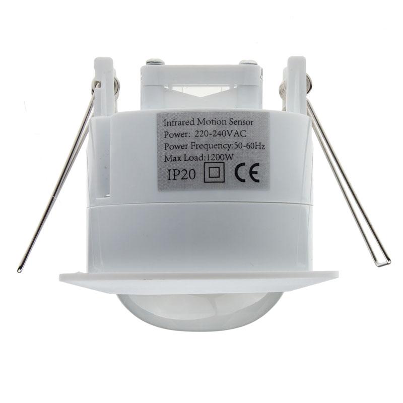 Fashion Heaven 360 Degree 220V Ceiling PIR Infrared Motion Sensor Detector Light Switc Free Shipping Mar17(China (Mainland))
