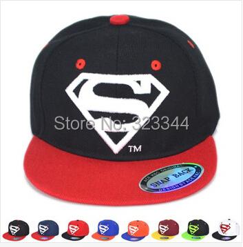 2015 Baby snapbacks Caps Superman Baseball Summer Jean Hats Children Hat gorras bones aba reta Kids cap - Laura Z's store