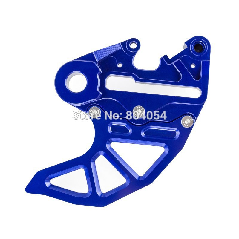 Blue CNC Billet Brake Caliper Support Disc Guard Fits Husaberg 2009-2014 - XP-ALIEXPRESS store