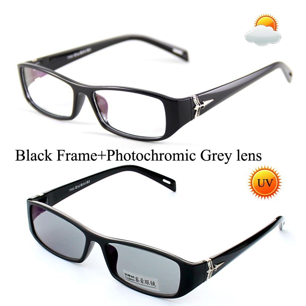 Unisex Photochromic Sunglasses Transition Sun Glasses ...